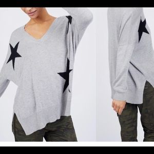 KUT from the kloth oversized star sweater